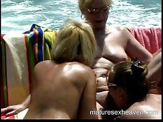 Granny's Yacht Orgy Part 5