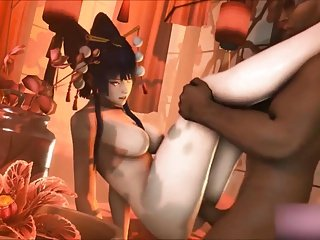 HMV SFM DOA 3d Nyotengu Hentai Music Video Compilation