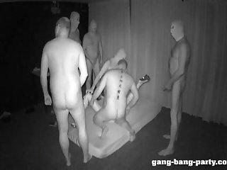 Σκοτεινό θάλαμο Παρτούζα Κόμμα με Farah Slut - μέρος 1