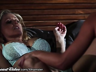 Julia Ann woke by Randy Step-Daughter
