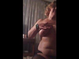 mom blow job sexy pantyhose