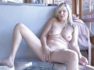 beautiful blonde mature