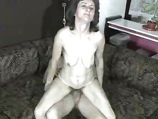 Thin Hairy Granny.
