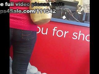 Gilf in tight jeans