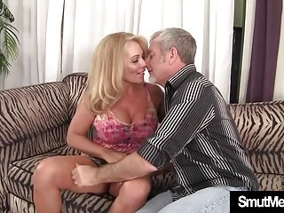Sexy Blond Granny fuck good