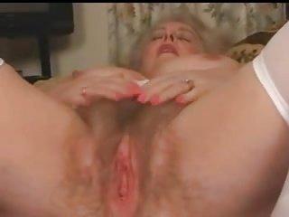 Scots granny Busty wanks