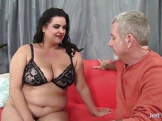 Hot chubby mom fuck hard