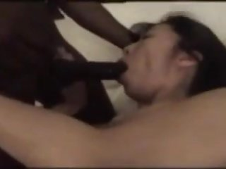 asian hotwife takes black dick cheating on husband wittol