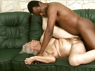 Granny and Big black dick