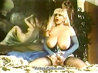 Candy Samples Masturbating Chesty Granny (1970s Vintage)