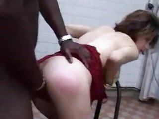 Petite French Anal Big black dick