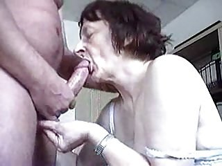 Erotic Granny Blow job