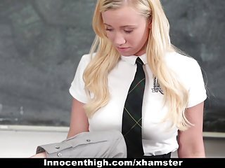 InnocentHigh - Hot Student Gives Teacher CPR