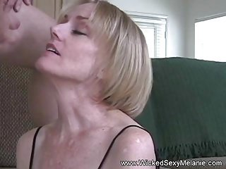 Grandma Just Loves The Taste Of Cum