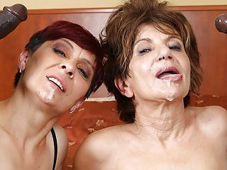 Grannies Hardcore Fuck Interracial Porn with Old Women sex