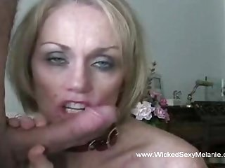 Perfect Homemade Blow job GILF