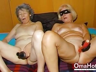 OmaHoteL Randy Granny Nun Tries BDSM Sex With Toy