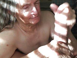 Grandma wants more cum
