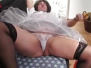 Upskirt Mature Bride.