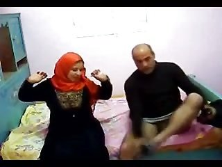 Egyptian hijab hot lady cheating hidden cam
