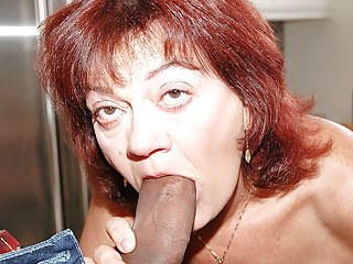 Grandma wants a Big black dick