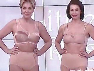 Mature bras and panties