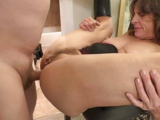 Poor Granny Gets Butt Fuck ANAL ABUSE