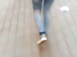 candid ass arab hijab jeans