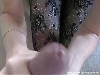 GILF Worships Hard Dick