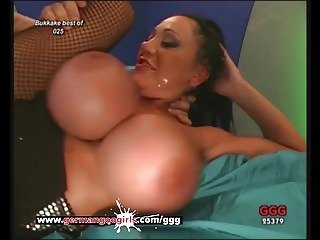 German Mom Loves Cum on her Pretty face And Massive Tits