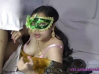 Mature Indian Hot lady Bhabhi Velamma Sucking Big Dick