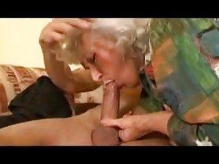 Granny loves dick