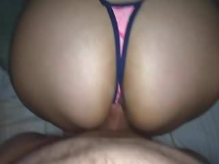 WATERMELON THONG!! CUMMING ON SISTER ASS!!