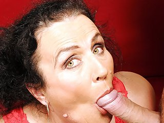 Grandmother loves young dick