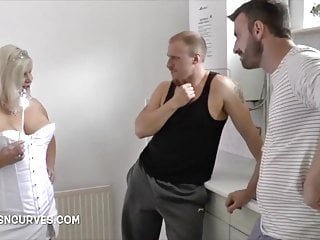 Fairy Granny gets greedy for two young men