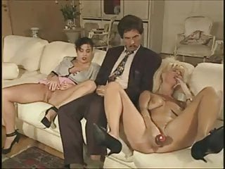 Vintage German family - the dildo salesman