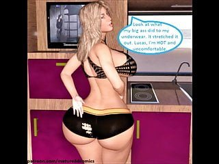 3D Comic: Cuckold Wife Fucks Stranger Intensely
