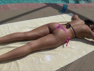 Private Pool Party With My Step Sister - Sofi Ryan - Family Therapy