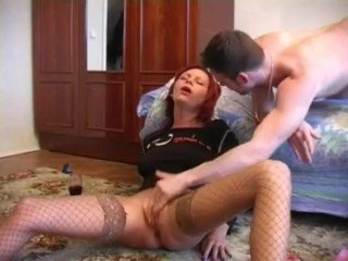 Drunk german redhead gets fuck till she passes out