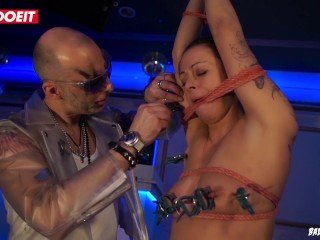 German Hot Hot lady Enjoys Being Tied up and Abused in Kinky Bdsm Fetish