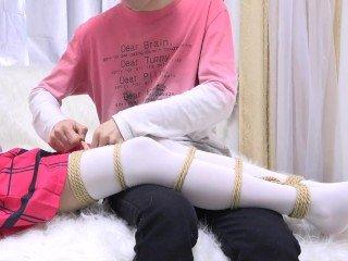 chinese cosplay bondage