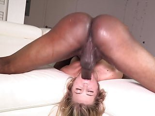 White whore loves to be degraded by black dick part 1